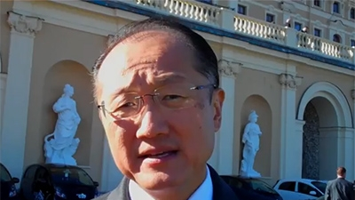World Bank Group President Jim Yong Kim: Our Partnership with Russia