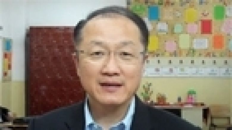 President Jim Yong Kim in Romania: Countries need to invest in education