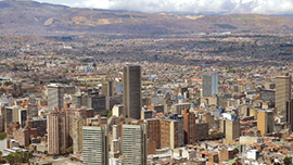 A view of Bogota, Colombia. - Photo: Shutterstock