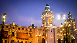 A view of Plaza de Armas in Lima, Peru. - Photo: Shutterstock