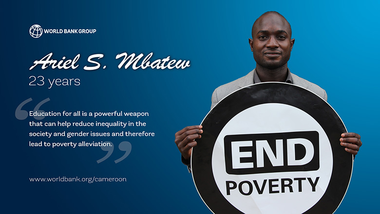 End Poverty: Young Cameroonians Speak Up