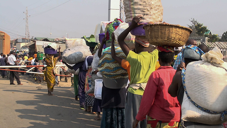 Helping small traders in Africa's Great Lakes Region get their goods to market
