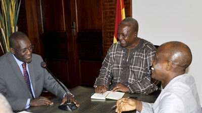 Africa Region VP Meets with Ghanaian Officials