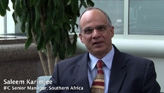 Saleem Karimjee, International Finance Corporation Senior Manager for Southern Africa