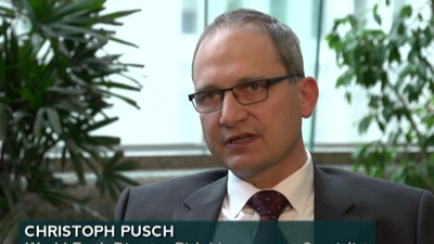 Christoph Pusch: Working to Reduce Risks Related to Disasters