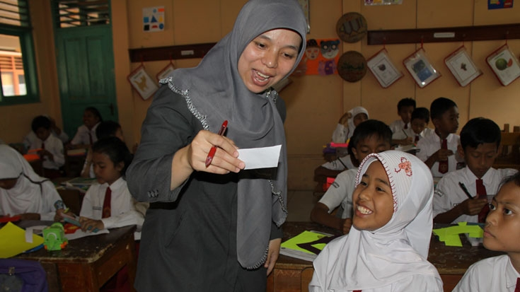Indonesia: Improving quality of teachers for better education results
