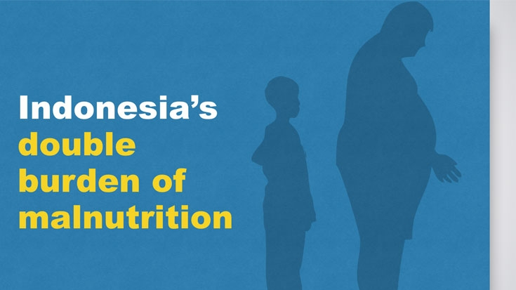 The Double Burden of Malnutrition in Indonesia