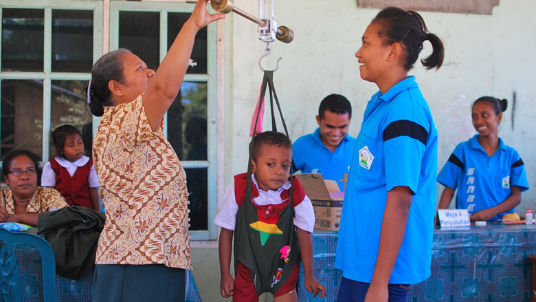 Stronger Community Voices Improve Maternal and Child Health in Indonesia
