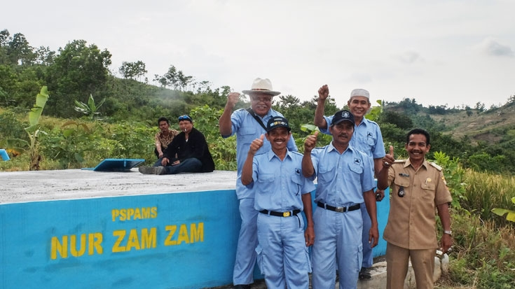 Local Village Enterprises Bring Clean Water to Communities in Indonesia