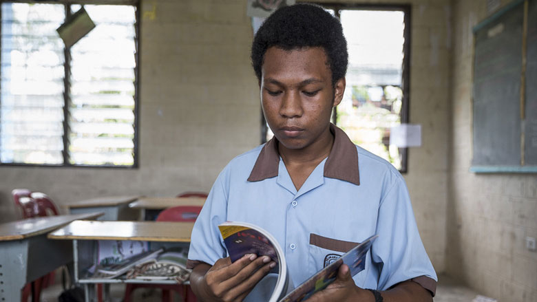 Papua New Guinea: Reading for a Brighter Future