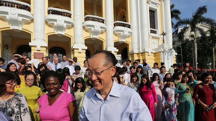 Photos: World Bank Group President Jim Yong Kim Visits Vietnam