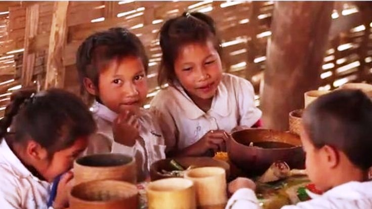 Laos: Learning on a Full Stomach