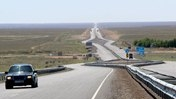 Slideshow: Building a Big Road Brings Big Changes in Kazakhstan
