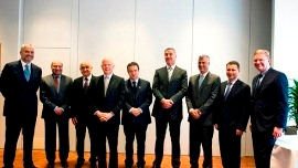 Western Balkan leaders and decision-makers, London, EBRD