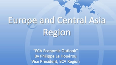 Europe and Central Asia Regional Economic Update
