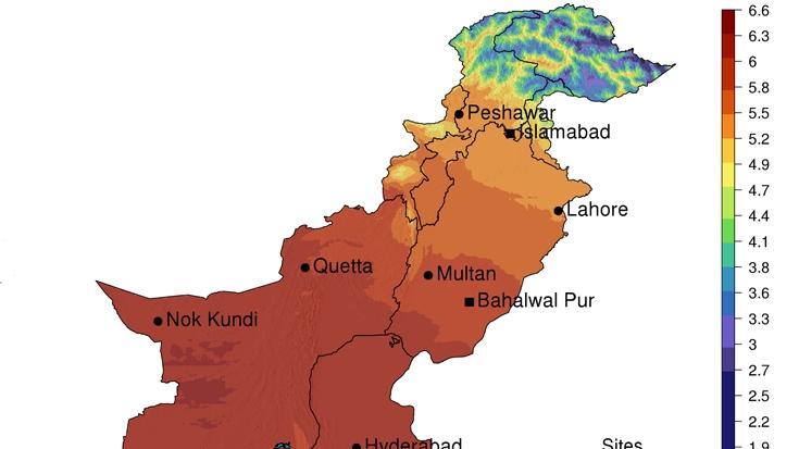 Lahore World Map.Global Renewable Energy Mapping Program Gets Underway In Pakistan