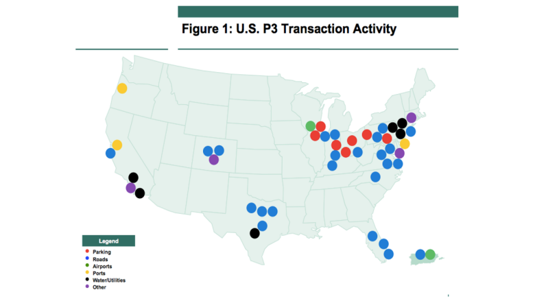 US Infrastructure PPPs Ready For Takeoff - Us infrastructure map