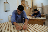 Young men at a vocational education and training center.