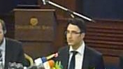 VIDEO SPEECH: Traicho Traikov, Minister o...