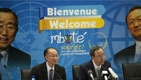Jim Yong Kim, Ban Ki-moon Make Historic Joint Visit to Africa's Great Lakes Region