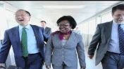 Jim Yong Kim in Haiti
