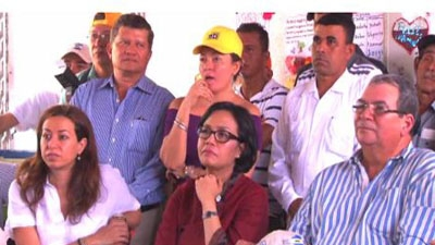 Sri Mulyani: cobble stone roads improve the lives of communities in Nicaragua