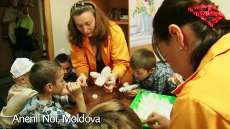 Art Classes and New Choices for the Vulnerable in Moldova