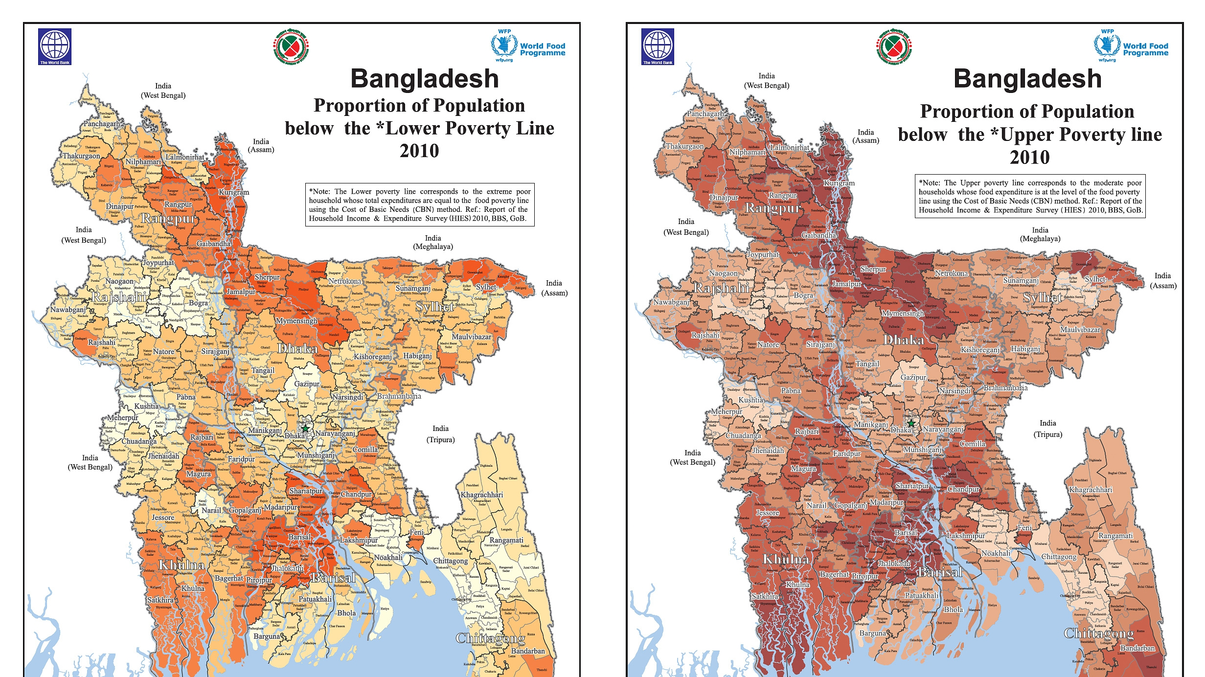 Latest desh Poverty Maps Launched on