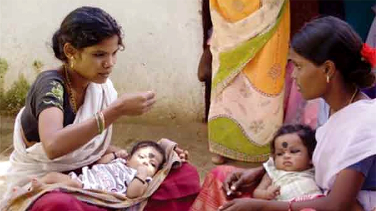 India: Community-run centers improve nutrition for women and children