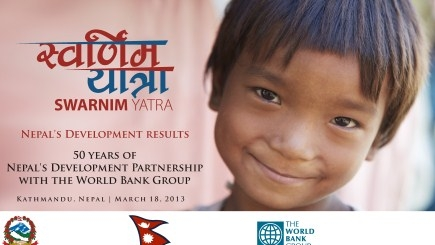 Nepal and the World Bank 50 Years of Development Partnership