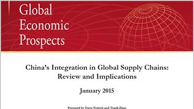 China's Integration in Global Supply Chains: Review and Implications