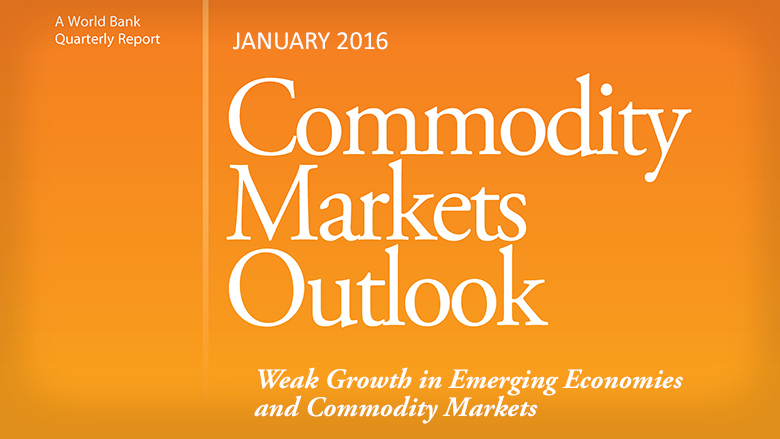 Commodity Markets Outlook/World Bank