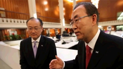 World Bank President Jim Kim and UN Secretary-General Ban Ki-moon to Make Historic Joint Visit to Africa
