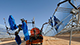 A truck cleaning the solar panels in Tunisia. - Photo: Dana Smillie/World Bank