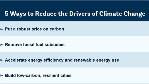 5 Ways To Reduce The Drivers Of Climate Change