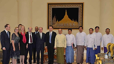 World Bank Group Delegation Visits Myanmar