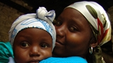 Haiti mom and child