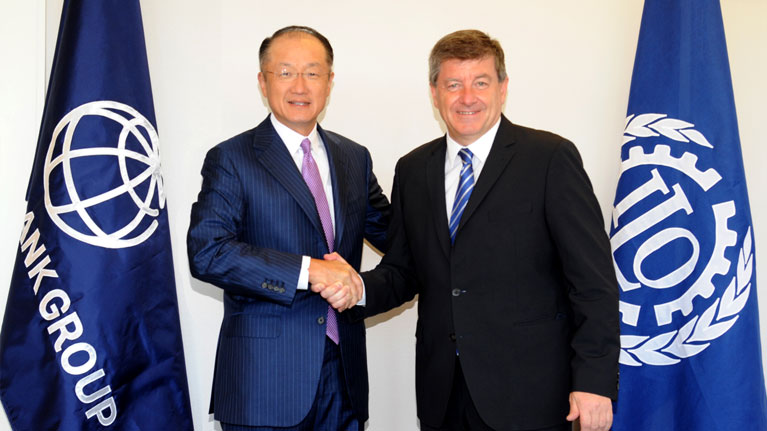 Joint Statement by World Bank Group President Jim Yong Kim and ILO Director General Guy Ryder