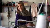 Afghan Tailor Benefits from the Rural Enterprise Development Program