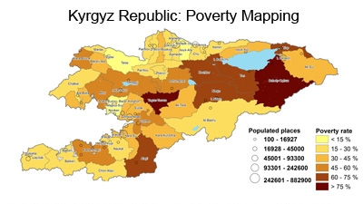 regional disparities in poverty rates still key issue in the kyrgyz republic new world bank study