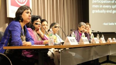 Activists discuss solutions to gender-based violence