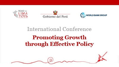 International Conference: Promoting Growth through Effective Policy