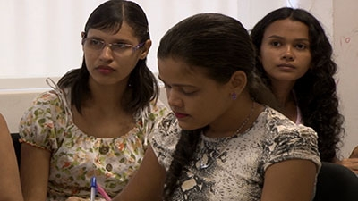 Vocational training in Brazil.
