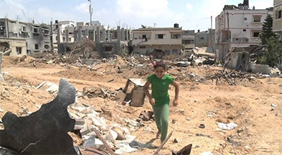 Gaza: Only Rubble Where Homes Once Stood