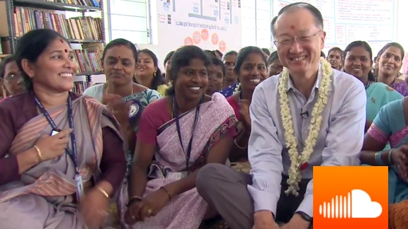 PODCAST: Jim Yong Kim: Jobs in India - New Hope For Next Generation