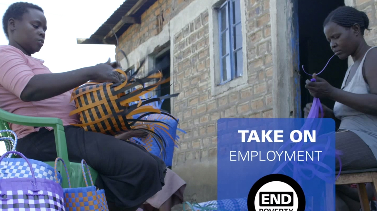 Take On Employment: Weaving Opportunities for Kenyan Women