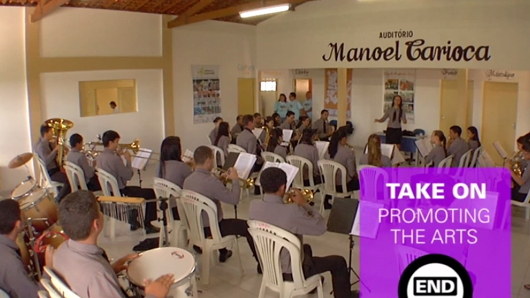 Music Is Ticket To a Better Life for Brazilian Poor