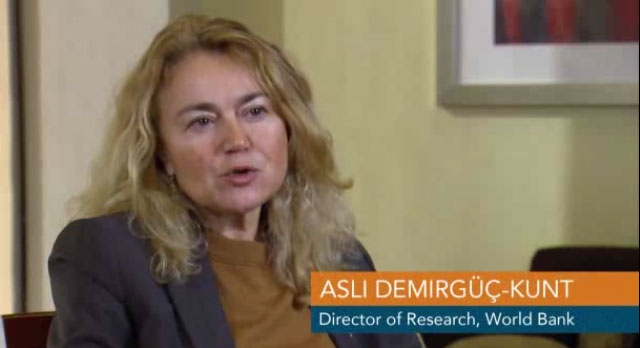 Financial Inclusion and the 2014 Global Findex with Asli Demirguc-Kunt