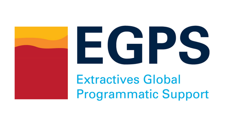 Logo of Extractives Global Programmatic Support (EGPS), a multi-donor trust fund, supported by the World Bank Group