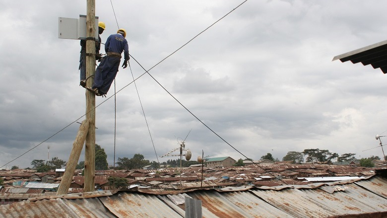 Lighting Up Nairobi's Slums